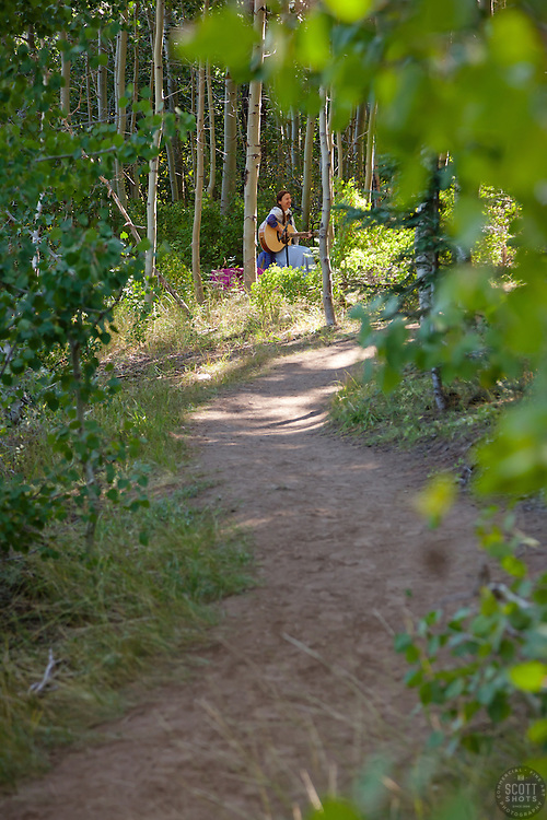 """""""Trails and Vistas 2011 4"""" - Photograph from the incredible Tahoe art hike event Trails and Vistas."""