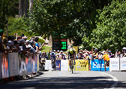 Grace Brown (AUS) wins Santos Women's Tour Down Under 2019 - Stage 3, a 104.5 km road race from Nairne to Stirling, Australia on January 12, 2019. Photo by Sean Robinson/velofocus.com