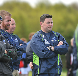JP Walsh Connacht Junior's head coach.<br /> Pic Conor McKeown