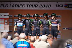 Cylance Pro Cycling sign on at Boels Ladies Tour 2018 - Stage 3, a 129km road race in Gennep, Netherlands on August 30, 2018. Photo by Sean Robinson/velofocus.com
