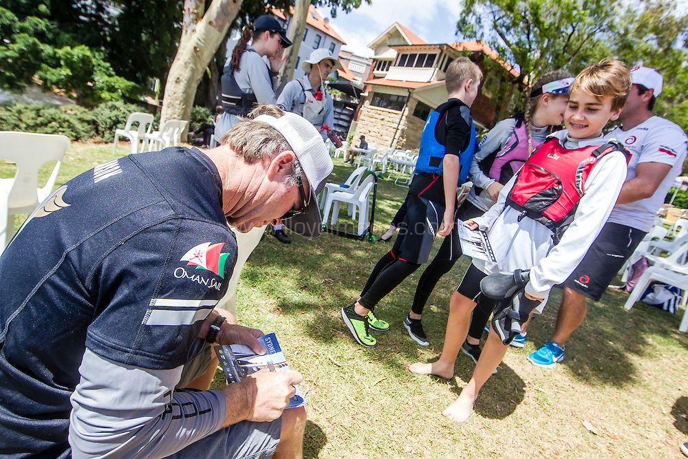 The Extreme sailing Series 2016. Act 8. Sydney. Australia . Day 3. Image licensed to Jesus Renedo/Lloyd Images