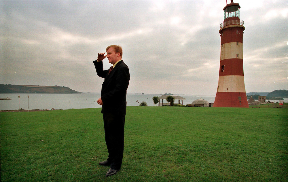 Charles Kennedy at the liberal democratic  spring conference Plymouth  Devon March 2000.