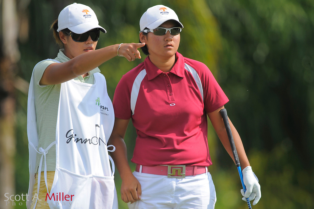 Yani Tseng in action during the final round of the Ginn Open at Reunion Resort on April 20, 2008 in Reunion, Florida...©2008 Scott A. Miller
