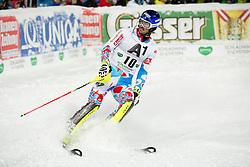 27.01.2015, Planai, Schladming, AUT, FIS Skiweltcup Alpin, Schladming, 2. Lauf, im Bild Jean-Baptiste Grange (FRA) // Jean-Baptiste Grange (FRA) during the second run of the men's slalom of Schladming FIS Ski Alpine World Cup at the Planai Course in Schladming, Austria on 2015/01/27, EXPA Pictures © 2015, PhotoCredit: EXPA/ Erwin Scheriau