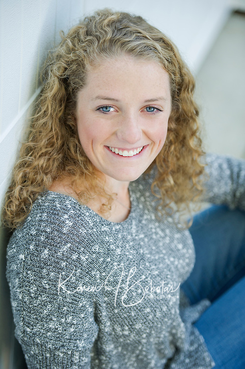 Julia Harris senior portrait session.<br />  ©2015 Karen Bobotas Photographer