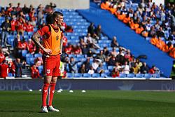 Aden Flint of Bristol City warms up - Mandatory by-line: Jason Brown/JMP - 29/04/2017 - FOOTBALL - Amex Stadium - Brighton, England - Brighton and Hove Albion v Bristol City - Sky Bet Championship