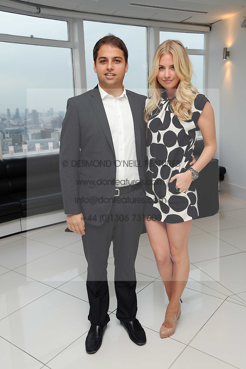 JAMIE REUBEN and MARISSA MONTGOMERY at The Reuben Foundation and Virgin Unite Haiti Fundraising dinner held at Altitude 360 in Millbank Tower, London on 26th May 2010.