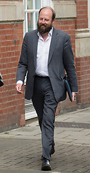 © Licensed to London News Pictures. 26/04/2017. London, UK. Prime Minister Theresa May Joint Chief of Staff Nick Timothy is seen walking to Conservative Party Headquarters.  Parliament will be dissolved on Wednesday 3rd May ahead of the general election on June 8th, 2017.  Photo credit: Peter Macdiarmid/LNP