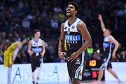 Wesley Shyaam Saunders<br /> Vanoli Cremona - Happy Casa New Basket Brindisi<br /> Postemobile Final Eight - Finale<br /> Legabasket 2018/2019<br /> Firenze, 17/02/2019<br /> Foto M.Ceretti / Ciamillo-Castoria