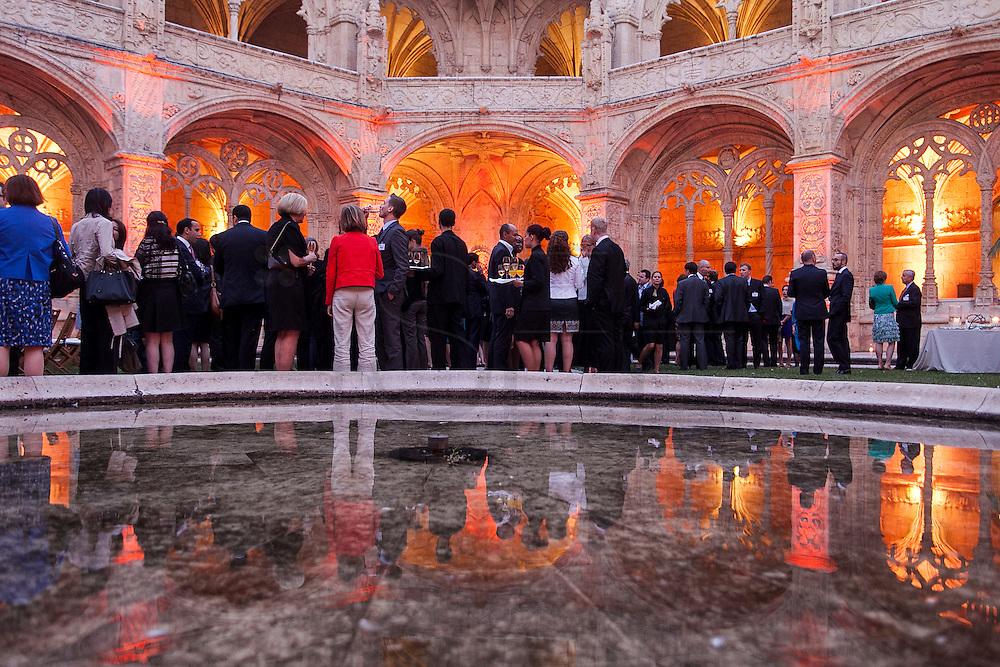 AXA Private Equity Gala Event. Mosteiro dos Jeronimos, Belem Lisbon.