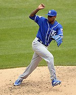 CHICAGO - JUNE 12:  Yordano Ventura #30 of the Kansas City Royals pitches against the Chicago White Sox on June 12, 2016 at U.S. Cellular Field in Chicago, Illinois.  The Royals defeated the White Sox 3-1.  (Photo by Ron Vesely)    Subject:  Yordano Ventura