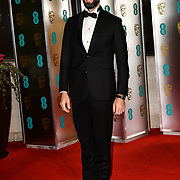 Joseph Fiennes Arrivers at EE British Academy Film Awards in 2019 after-party dinner at Grosvenor house on 10 Feb 2019.