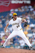 PITTSBURGH, PA - JUNE 30: Jason Grilli #39 of the Pittsburgh Pirates pitches against the Milwaukee Brewers during the game at PNC Park on June 30, 2013 in Pittsburgh, Pennsylvania. The Pirates won 2-1 in 14 innings. (Photo by Joe Robbins)  Jason Grilli