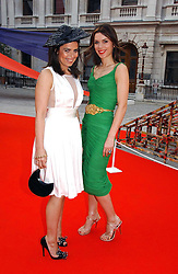 Left to right, DANIELLA HELAYEL and  at the Royal Academy of Art's SUmmer Party following the official opening of the Summer Exhibition held at the Royal Academy of Art, Burlington House, Piccadilly, London W1 on 7th June 2006.<br /><br />NON EXCLUSIVE - WORLD RIGHTS