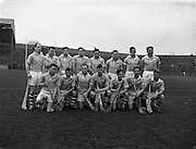16/03/1958<br /> 03/16/1958<br /> 16 March 1958<br /> National Hurling League: Dublin v Cork at Croke Park, Dublin. Dublin team.