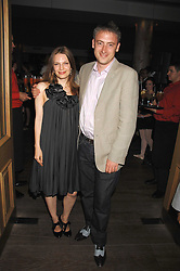 ZOE MANZI and LUKE LEACH at a party to celebrate the launch of the Boodles Wonderland jewellery collection held at the Haymarket Hotel, 1 Suffolk Place, London on 9th June 2008.<br /><br />NON EXCLUSIVE - WORLD RIGHTS
