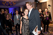 Tara Subkoff; Tom Hooper, Piccadilly theatre's Ghost The Musical Opening night party. Corinthia Hotel. Whitehall Place. London. 19 July 2011. <br /> <br />  , -DO NOT ARCHIVE-© Copyright Photograph by Dafydd Jones. 248 Clapham Rd. London SW9 0PZ. Tel 0207 820 0771. www.dafjones.com.