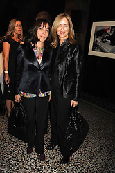 Left to right, OLIVIA HARRISON and BARBARA BACH at British Style Observed - part of National Magazine's 30 Days of Fashion & Beauty festival featuring photographs by Mary McCartney with proceeds from the evening going to Macmillan Cancer Care held at the Natural History Museum, Cromwell Road, London on 16th September 2008.