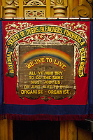 National Society of Dyers Bleachers Finishers and Textile Workers banner