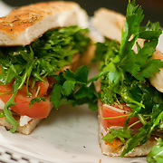 12/17/10 Wilmington DE: Fresh Mozzarella Sliced Tomato &amp; Basil.sandwich with No sauce at Anthony's Coal Fired Pizzas in Wilmington Delaware.<br /> <br /> Special to The News Journal/SAQUAN STIMPSON