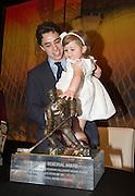 2014 Hobey Baker Award winner Johnny Gaudreau (Boston College) at the Loews Hotel, Center City in Philadelphia, PA Friday April 11th 2014<br /> <br /> Mandatory Credit: Todd Bauders/ ContrastPhotography.com