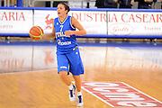 DESCRIZIONE : Parma Palaciti Nazionale Italia femminile Basket Parma<br /> GIOCATORE : Valeria Battisodo<br /> CATEGORIA : palleggio<br /> SQUADRA : Italia femminile<br /> EVENTO : amichevole<br /> GARA : Italia femminile Basket Parma<br /> DATA : 13/11/2012<br /> SPORT : Pallacanestro <br /> AUTORE : Agenzia Ciamillo-Castoria/ GiulioCiamillo<br /> Galleria : Lega Basket A 2012-2013 <br /> Fotonotizia :  Parma Palaciti Nazionale Italia femminile Basket Parma<br /> Predefinita :