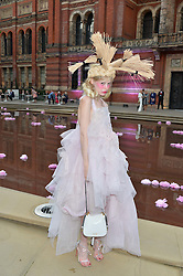 PETITE MELLER at the V&A Summer Party in association with Harrod's held at The V&A Museum, London on 22nd June 2016.