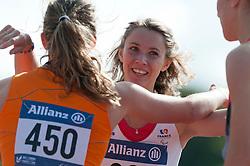 Marie-Amelie Le Fur, Marlou van Rhijn, 2014 IPC European Athletics Championships, Swansea, Wales, United Kingdom