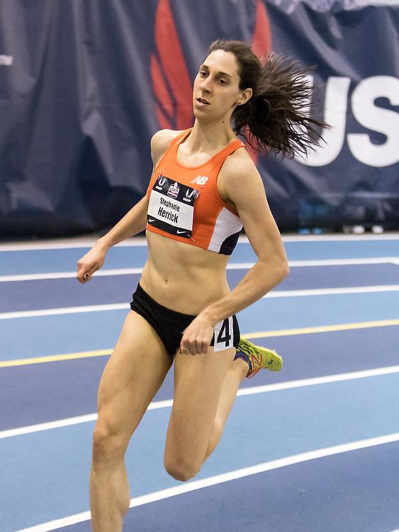 USATF Indoor Track & Field Championships: womens 1000, Stephanie Herrick, New Balance CPTC