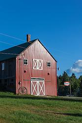 Shin Pond Village in Maine's northern forest. International Appalachian Trail.