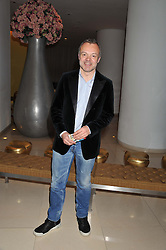 GRAHAM NORTON at an after show party following the opening night of All New People held at the St.Martin's Lane Hotel, London on 28th February 2012.