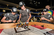 Area students participate in the Ecobot Challenge at the Berry Center, April 27, 2019.
