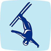 OLYMPIC GAMES VANCOUVER 2010 - VANCOUVER (CAN) - PHOTO : VANOC/COVAN / DPPI<br /> PICTOGRAMS - AERIALS FREESTYLE SKIING