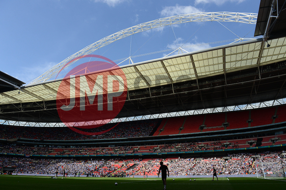 Wembley Stadium - Photo mandatory by-line: Dougie Allward/JMP - Mobile: 07966 386802 - 17/05/2015 - SPORT - football - London - Wembley Stadium - Bristol Rovers v Grimsby Town - Vanarama Conference Football