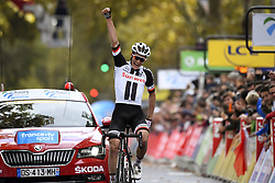 October 7, 2018 - Tours, France - TOURS, FRANCE - OCTOBER 7 : KRAGH ANDERSEN Soren (DEN)  of Team Sunweb during the 112th edition of the Paris - Tours Elite cycling race with start in Chartres and finish in Tours on October 07, 2018 in Tours, France, 7/10/2018 (Credit Image: © Panoramic via ZUMA Press)
