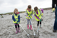 Irish water beach clean
