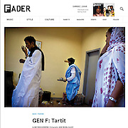 Fader Magazine New-York