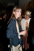 EDIE CAMPBELL, Leaving dinner for Kate Phelan given by Alex Shulman and Mary Homer. Riding House Cafe. Great Titchfield st. London. 20 September 2011. <br /> <br />  , -DO NOT ARCHIVE-© Copyright Photograph by Dafydd Jones. 248 Clapham Rd. London SW9 0PZ. Tel 0207 820 0771. www.dafjones.com.