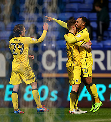 Byron Moore of Bristol Rovers celebrates after scoring the equalising goal to make it 1-1 - Mandatory by-line: Matt McNulty/JMP - 28/02/2017 - FOOTBALL - Macron Stadium - Bolton, England - Bolton Wanderers v Bristol Rovers - Sky Bet League One