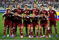 Conmebol - Copa America CHILE 2015 / <br /> Venezuela Team - Preview Set // Team Group from the left up :<br /> Vega-Vizcarrondo-Agnel Flores-Tunez-Miku Fedor-Cichero // Ralf Feltscher-Francisco Flores-Rosales-Seijas-Arango