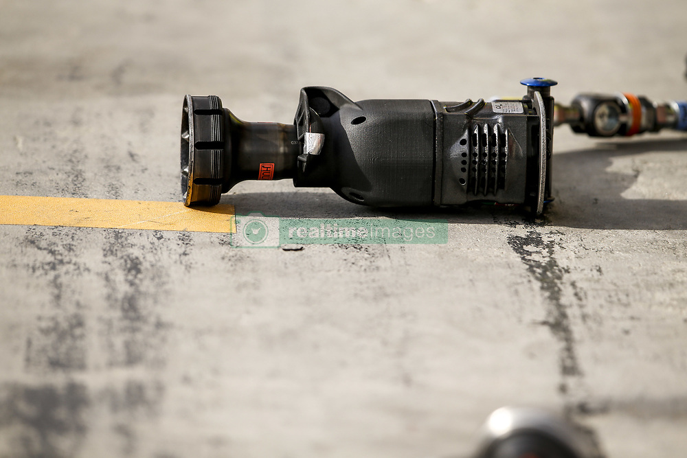 March 30, 2019 - Sakhir, Bahrain - Motorsports: FIA Formula One World Championship 2019, Grand Prix of Bahrain, ..Pit stop tools  (Credit Image: © Hoch Zwei via ZUMA Wire)