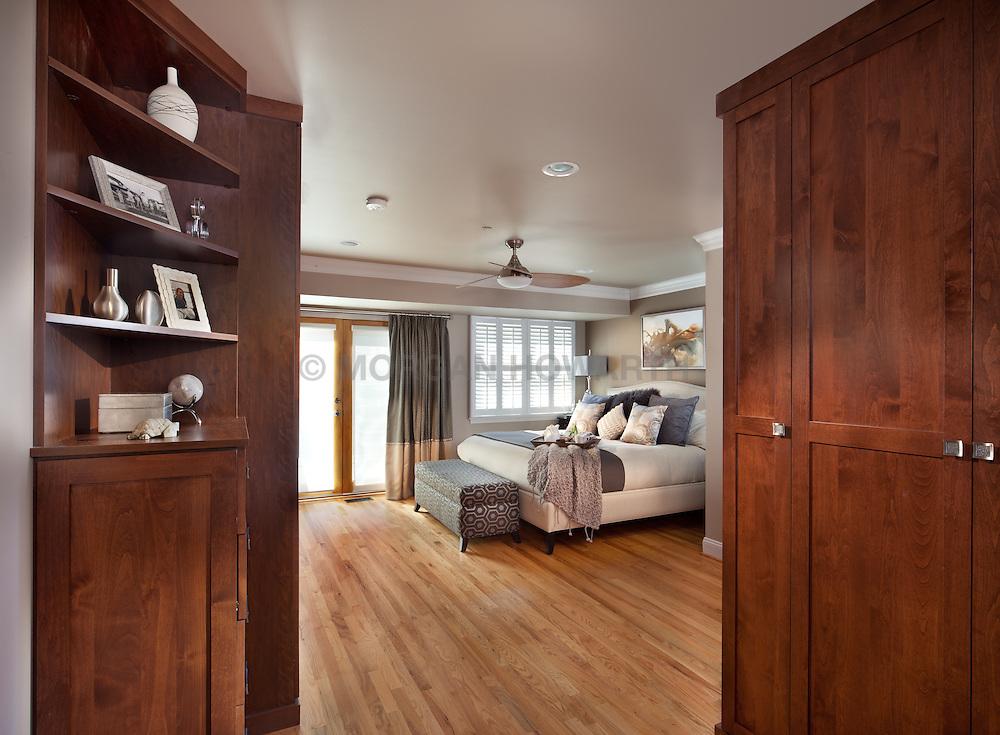 1126 25th St Nw Washington, DC designer Cynthia Prizant Master Bedroom Clothes closet dressing room