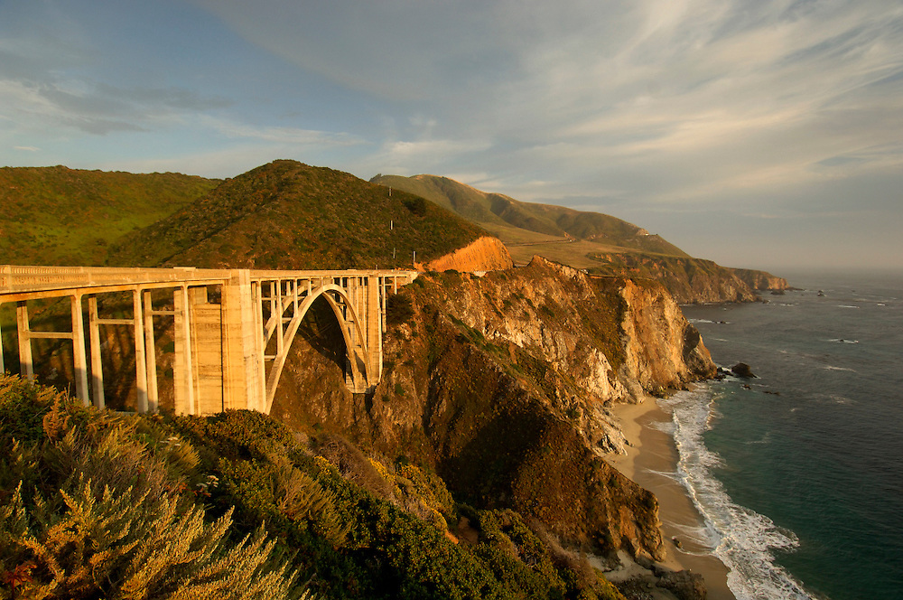 Bixby Bridge, Highway 1, Cabrillo Highway, Big Sur, California, United States of America