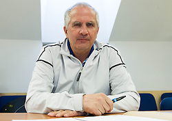 Srecko Medven during meeting of Executive Committee of Ski Association of Slovenia (SZS) on March 10, 2014 in SZS, Ljubljana, Slovenia. Photo by Vid Ponikvar / Sportida