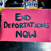 London, England, UK. 11th December 2018: Lesbians and Gays Support the Migrants and End Deportations demonstration at Home Office to protest their convictions and demand an end to brutal deportation flights, inhumane indefinite detention, and the hostile environment.