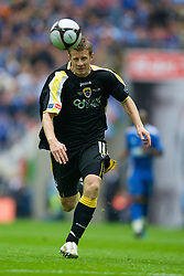 LONDON, ENGLAND - Saturday, May 17, 2008: Cardiff City's Paul Parry in action against Portsmouth during the FA Cup Final at Wembley Stadium. (Photo by David Rawcliffe/Propaganda)