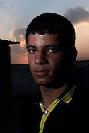 Iraq, Qayyara: Ashraf, displaced from Tob Zawa is portrait in Alkazik camp. Alessio Romenzi