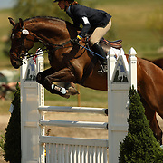 Christine Austerman and Galileo at the The Event at Rebecca Farm in Kalispell, Montana.