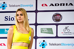 Hostess Tonja during 1st Stage of 25th Tour de Slovenie 2018 cycling race between Lendava and Murska Sobota (159 km), on June 13, 2018 in  Slovenia. Photo by Matic Klansek Velej / Sportida