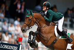 Kenny Darragh, IRL, Charly Chaplin S<br /> FEI Nations Cup - CHIO Rotterdam 2017<br /> © Dirk Caremans<br /> Kenny Darragh, IRL, Charly Chaplin S